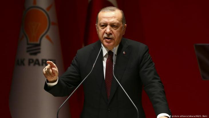 Der türkische Präsident Recep Tayyip Erdoğan; Foto: picture-alliance/abaca