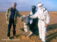 فندريش والكوني في ليبيا، الصورة: ماركس كيرشغسنر