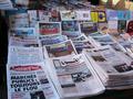 كشك لبيع الصحف في مراكش، الصورة: لاريسا بندر