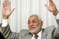 محمد عاكف، المرشد العام للأخوان المسلمين، الصورة:  أ ب