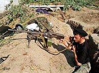 مقاتل شيشاني، الصورة: أ ب