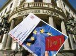 اختبار الحصول على الجنسية الألمانية في ولاية هسن، الصورة: د ب أ