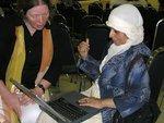 ليديا بوتس ورؤوفا حسن، الصورة: سوزانه شبورار وكلاوس هايماخ