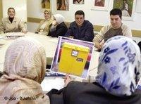 أجانب يشاركون في دورة تأهيلية في ألمانيا: الصورة، د ب أ