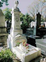 قبر هينريش هاينه في دوسلدورف، الصورة: د ب أ