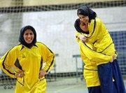 لاعبات كرة قدم، الصورة: أ ب