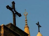 الهلال والصليب، الصورة: أ ب
