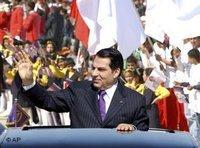 رئيس الجمهورية التونسي زين العابدين بن علي، الصورة: أ ب