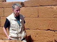مدير المتحف المصري في برلين ديتريش فيلدونغ، الصورة: د ب أ