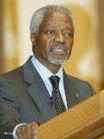 السكرتير العام السابق للأمم المتحدة كوفي عنان، الصورة: أ ب