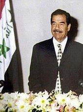 الرئيس العراقي صدام حسين في يوليو/تموز 2001، الصورة: أ ب
