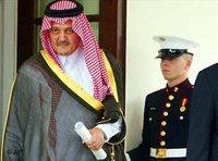 وزير الخارجية السعودي سعود الفيصل في واشنطن 2003، الصورة: أ ب