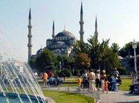 جامع السلطان أحمد في اسطنبول، الصورة: د ب أ