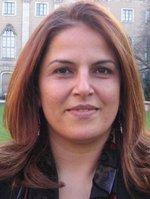 وزيرة السياحة والآثار الفلسطينية خلود دعيبس، الصورة: يوسف حجازي