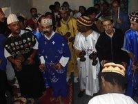 حفلة لإخوان الكناوة في الصويرة، الصورة: أندرياس غيرشغيسنر