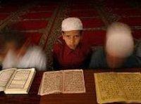 مدرسة لتعليم القرآن في كابول، الصورة: أ ب