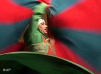 درويش مصري في عرض في القلعة في القاهرة، الصورة: أ ب