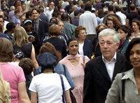 المجتمع المتعدد الثقافات في بريطانيا، الصورة: د ب أ
