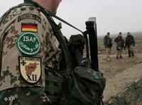 جندي ألماني في كابول، الصورة: أ ب