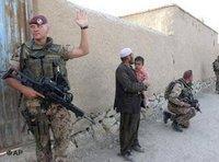 مجموعة من الجنود الألمان يقومون بدورية في كابول، الصورة: أ ب