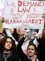 نساء يتظاهرن ضد التحرش الجنسي في القاهرة