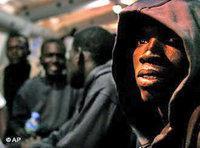 لاجئ إفريقي على جزر الكناري