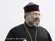 بطريرك الأقلية الأرمنية في تركيا ميسروب الثاني