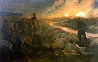 لوحة الفنان بيوتروفسكي