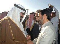 الرئيس الايراني أثناء زيارته للسعودية، الصورة: أ.ب