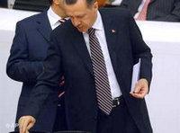 اردوغان في تصويت برلماني، الصورة: أ.ب