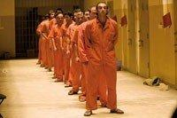 أحد مشاهد الفيلم التي تجسد السجناء في سجن أبو غريب،الصورة: برليناله