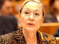 مفوضة الشؤون الخارجية للاتحاد الأوروبي بيتينا فيريرو فالدنر، الصورة: أ.ب