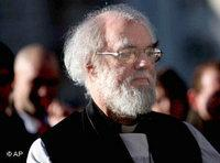 رئيس أساقفة كانتربري، روان ويليامز، الصورة: أ.ب
