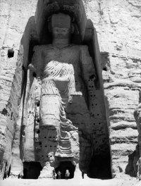 صورة التماثيل في باميان قبل تدميرها من قبل طالبان تعود لعام 1963، الصورة اليونسكو