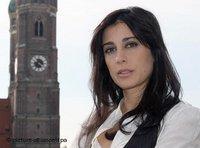 المخرجة اللبنانية نادين لبكي، الصورة: أورسولا دورن، د.ب. أ