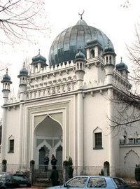 أقدم مسجد في برلين، عام 1920، الصورة: دويتشه فيله