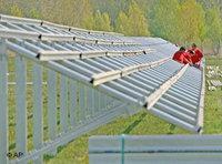 الطاقة الشمسية قد تكون مستقبلا احد أوجه الصراع على كوكبنا الأزرق، الصورة: دويتشه فيله