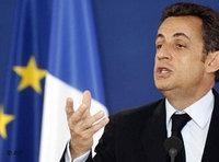 الرئيس الفرنسي ساكوزي، الصورة: أ.ب