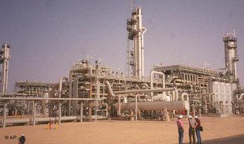 منشأة نفطية جزائرية، الصورة: أ.ب