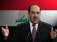 صورة رمزية لرئيس الوزراء العراقي نوري المالكي، الصورة: د.ب.أ