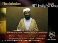 أسامة بن لادن، الصورة: أ.ب