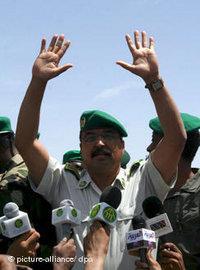 قائد الانقلاب الجنرال ولد عبد العزيز، الصورة: د.ب.ا
