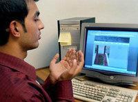 متصفح مسلم للانترنت، الصورة: أ.ب