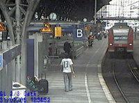 محطة القطارات التي كانت عرضة لعمل إرهابي من قبل الشباب اللبنانيين، الصورة: أ.ب