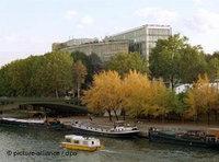 مبنى معهد العالم العربي في باريس، الصورة: د.ب.ا