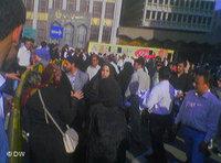 متظاهرات إيرانيات في شوارع طهران، الصورة: دويتشه فيله