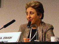 حاملة جائزة نوبل، شيرين عبادي