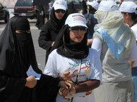 كويتيات في الانتخابات الأخيرة في الكويت، الصورة: أ.ب