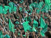 متظاهرون مؤيدون لحركة حماس، الصورة: أ.ب
