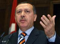 رئيس الوزراء التركي رجب طيب أردوغان، الصورة: أ.ب